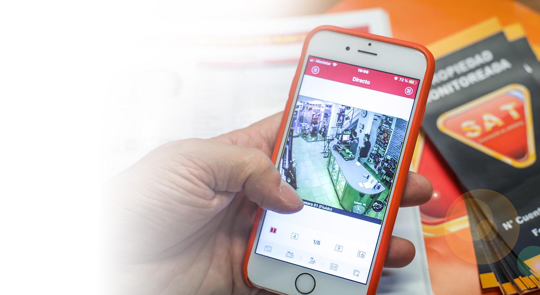 App alarmas y camaras facil usar
